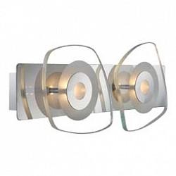 Накладной светильник GloboСветодиодные<br>Артикул - GB_41710-2,Бренд - Globo (Австрия),Коллекция - Zarima,Гарантия, месяцы - 24,Тип лампы - светодиодная [LED],Общее кол-во ламп - 2,Напряжение питания лампы, В - 9,Максимальная мощность лампы, Вт - 4.5,Лампы в комплекте - светодиодные [LED],Цвет плафонов и подвесок - неокрашенный,Тип поверхности плафонов - прозрачный,Материал плафонов и подвесок - стекло,Цвет арматуры - хром,Тип поверхности арматуры - глянцевый,Материал арматуры - металл,Возможность подлючения диммера - нельзя,Класс электробезопасности - I,Общая мощность, Вт - 9,Степень пылевлагозащиты, IP - 20,Диапазон рабочих температур - комнатная температура<br>