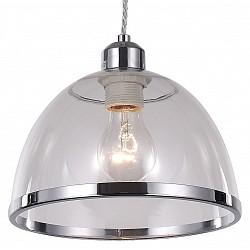 Подвесной светильник ST-LuceДля кухни<br>Артикул - SL481.103.01,Бренд - ST-Luce (Китай),Коллекция - SL481,Гарантия, месяцы - 24,Высота, мм - 1200,Диаметр, мм - 230,Размер упаковки, мм - 740х500х690,Тип лампы - компактная люминесцентная [КЛЛ] ИЛИнакаливания ИЛИсветодиодная [LED],Общее кол-во ламп - 1,Напряжение питания лампы, В - 220,Максимальная мощность лампы, Вт - 60,Лампы в комплекте - отсутствуют,Цвет плафонов и подвесок - неокрашенный, хром,Тип поверхности плафонов - глянцевый, прозрачный,Материал плафонов и подвесок - металл, полимер,Цвет арматуры - хром,Тип поверхности арматуры - глянцевый,Материал арматуры - металл,Возможность подлючения диммера - можно, если установить лампу накаливания,Тип цоколя лампы - E27,Класс электробезопасности - I,Степень пылевлагозащиты, IP - 20,Диапазон рабочих температур - комнатная температура,Дополнительные параметры - регулируется по высоте, способ крепления светильника к потолку – на монтажной пластине<br>
