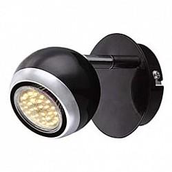 Спот GloboС 1 лампой<br>Артикул - GB_57884-1O,Бренд - Globo (Австрия),Коллекция - Oman,Гарантия, месяцы - 24,Тип лампы - галогеноваясветодиодная [LED],Общее кол-во ламп - 1,Напряжение питания лампы, В - 220,Максимальная мощность лампы, Вт - 50,Лампы в комплекте - отсутствуют,Цвет плафонов и подвесок - черный с хромированной каймой,Тип поверхности плафонов - глянцевый,Материал плафонов и подвесок - металл,Цвет арматуры - хром, черный,Тип поверхности арматуры - глянцевый,Материал арматуры - металл,Возможность подлючения диммера - можно,Форма и тип колбы - полусферическая с рефлектором,Тип цоколя лампы - GU10,Класс электробезопасности - I,Степень пылевлагозащиты, IP - 20,Диапазон рабочих температур - комнатная температура,Дополнительные параметры - поворотный светильник<br>