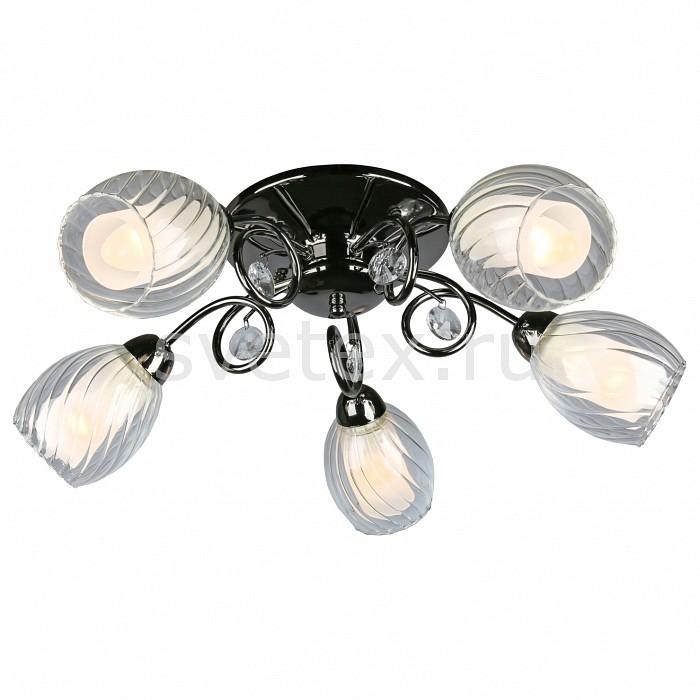 Потолочная люстра OmniluxЛюстры<br>Артикул - OM_OML-31607-05,Бренд - Omnilux (Италия),Коллекция - OML-316,Гарантия, месяцы - 12,Высота, мм - 200,Диаметр, мм - 550,Размер упаковки, мм - 360x160x300,Тип лампы - компактная люминесцентная [КЛЛ] ИЛИнакаливания ИЛИсветодиодная [LED],Общее кол-во ламп - 5,Напряжение питания лампы, В - 220,Максимальная мощность лампы, Вт - 60,Лампы в комплекте - отсутствуют,Цвет плафонов и подвесок - белый, неокрашенный,Тип поверхности плафонов - матовый, прозрачный, рельефный,Материал плафонов и подвесок - стекло, хрусталь,Цвет арматуры - хром черный,Тип поверхности арматуры - глянцевый,Материал арматуры - металл,Количество плафонов - 5,Возможность подлючения диммера - можно, если установить лампу накаливания,Форма и тип колбы - свеча,Тип цоколя лампы - E14,Класс электробезопасности - I,Общая мощность, Вт - 300,Степень пылевлагозащиты, IP - 20,Диапазон рабочих температур - комнатная температура,Дополнительные параметры - способ крепления светильника к потолку – на монтажной пластине<br>