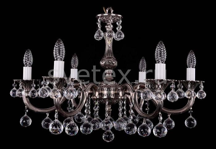 Фото Подвесная люстра Bohemia Ivele Crystal 1702 1702/6/A/NB/Balls