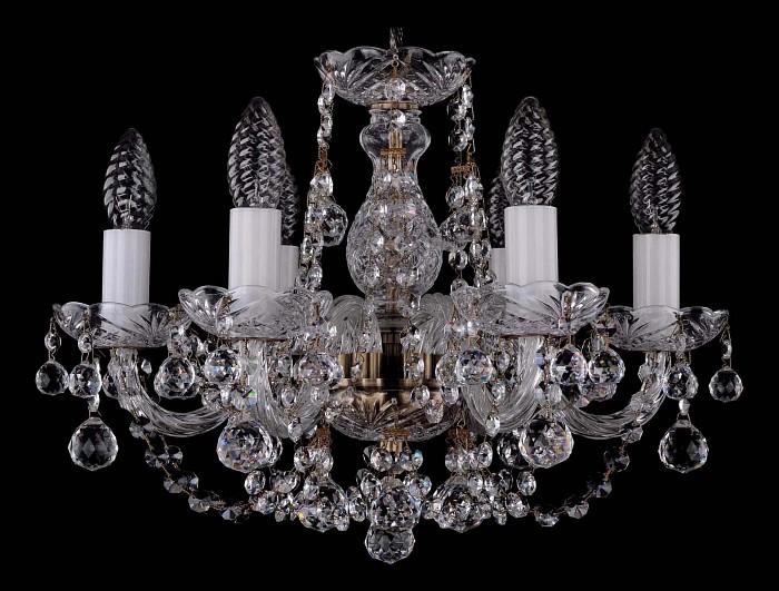Фото Подвесная люстра Bohemia Ivele Crystal 1406 1406/6/141/Pa/Balls