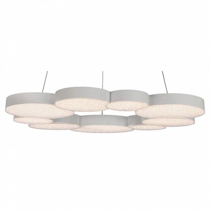 Подвесной светильник MantraПотолочные светильники и люстры<br>Артикул - MN_5760,Бренд - Mantra (Испания),Коллекция - Lunas,Гарантия, месяцы - 24,Высота, мм - 1600,Диаметр, мм - 765,Тип лампы - светодиодная [LED],Общее кол-во ламп - 9,Напряжение питания лампы, В - 220,Максимальная мощность лампы, Вт - 8.4,Цвет лампы - белый теплый,Лампы в комплекте - светодиодные [LED] с возможностью диммирования,Цвет плафонов и подвесок - неокрашенный,Тип поверхности плафонов - прозрачный, рельефный,Материал плафонов и подвесок - акрил,Цвет арматуры - белый,Тип поверхности арматуры - матовый,Материал арматуры - металл,Количество плафонов - 9,Наличие выключателя, диммера или пульта ДУ - пульт ДУ,Цветовая температура, K - 3000 K,Световой поток, лм - 3700,Экономичнее лампы накаливания - в 5.1 раза,Светоотдача, лм/Вт - 49,Класс электробезопасности - I,Общая мощность, Вт - 75,Степень пылевлагозащиты, IP - 20,Диапазон рабочих температур - комнатная температура,Дополнительные параметры - способ крепления светильника к потолку - на монтажной пластине, указана высота светильники без подвеса<br>