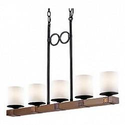 Подвесная люстра Odeon LightДеревянные<br>Артикул - OD_2767_5,Бренд - Odeon Light (Италия),Коллекция - Fabo,Гарантия, месяцы - 24,Время изготовления, дней - 1,Высота, мм - 1150,Тип лампы - компактная люминесцентная [КЛЛ] ИЛИнакаливания ИЛИсветодиодная [LED],Общее кол-во ламп - 5,Напряжение питания лампы, В - 220,Максимальная мощность лампы, Вт - 60,Лампы в комплекте - отсутствуют,Цвет плафонов и подвесок - белый,Тип поверхности плафонов - матовый,Материал плафонов и подвесок - стекло,Цвет арматуры - орех, черный с медной патиной,Тип поверхности арматуры - матовый,Материал арматуры - дерево, металл,Возможность подлючения диммера - можно, если установить лампу накаливания,Тип цоколя лампы - E27,Класс электробезопасности - I,Общая мощность, Вт - 300,Степень пылевлагозащиты, IP - 20,Диапазон рабочих температур - комнатная температура,Дополнительные параметры - стиль Кантри<br>