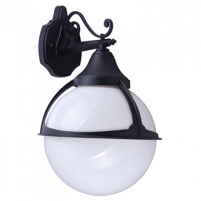 Светильник на штанге Arte LampСветильники<br>Артикул - AR_A1492AL-1BK,Бренд - Arte Lamp (Италия),Коллекция - Monaco,Гарантия, месяцы - 24,Время изготовления, дней - 1,Ширина, мм - 270,Высота, мм - 450,Выступ, мм - 300,Диаметр, мм - 270,Размер упаковки, мм - 300x255x430,Тип лампы - компактная люминесцентная [КЛЛ] ИЛИнакаливания ИЛИсветодиодная [LED],Общее кол-во ламп - 1,Напряжение питания лампы, В - 220,Максимальная мощность лампы, Вт - 100,Лампы в комплекте - отсутствуют,Цвет плафонов и подвесок - белый,Тип поверхности плафонов - матовый,Материал плафонов и подвесок - поликарбонат,Цвет арматуры - черный,Тип поверхности арматуры - матовый,Материал арматуры - металл,Количество плафонов - 1,Тип цоколя лампы - E27,Класс электробезопасности - II,Степень пылевлагозащиты, IP - 44,Диапазон рабочих температур - от -40^C до +40^C<br>