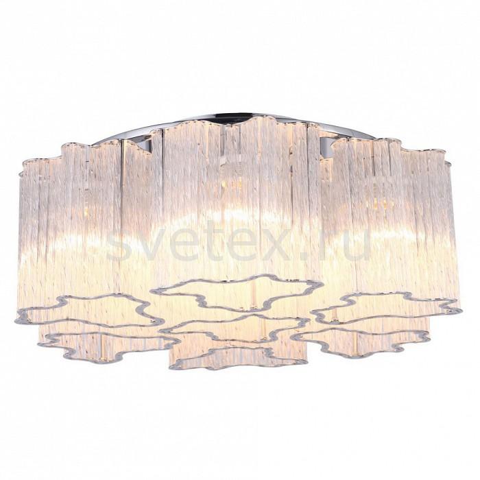 Накладной светильник Arte LampСветодиодные<br>Артикул - AR_A8567PL-7CL,Бренд - Arte Lamp (Италия),Коллекция - Diletto,Гарантия, месяцы - 24,Высота, мм - 180,Диаметр, мм - 500,Тип лампы - компактная люминесцентная [КЛЛ] ИЛИнакаливания ИЛИсветодиодная [LED],Общее кол-во ламп - 7,Напряжение питания лампы, В - 220,Максимальная мощность лампы, Вт - 40,Лампы в комплекте - отсутствуют,Цвет плафонов и подвесок - неокрашенный с каймой,Тип поверхности плафонов - прозрачный,Материал плафонов и подвесок - стекло,Цвет арматуры - хром,Тип поверхности арматуры - глянцевый,Материал арматуры - металл,Количество плафонов - 7,Возможность подлючения диммера - можно, если установить лампу накаливания,Тип цоколя лампы - E14,Класс электробезопасности - I,Общая мощность, Вт - 280,Степень пылевлагозащиты, IP - 20,Диапазон рабочих температур - комнатная температура,Дополнительные параметры - способ крепления светильника к потолку - на монтажной пластине<br>