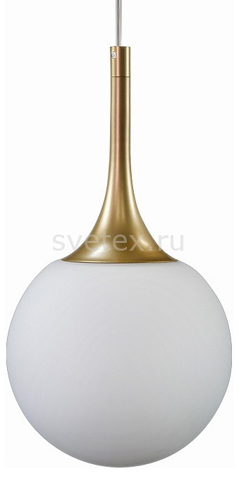 Подвесной светильник LightstarБарные<br>Артикул - LS_813012,Бренд - Lightstar (Италия),Коллекция - Globo,Гарантия, месяцы - 24,Высота, мм - 370-1370,Диаметр, мм - 150,Тип лампы - компактная люминесцентная [КЛЛ] ИЛИнакаливания ИЛИсветодиодная [LED],Общее кол-во ламп - 1,Напряжение питания лампы, В - 220,Максимальная мощность лампы, Вт - 40,Лампы в комплекте - отсутствуют,Цвет плафонов и подвесок - белый,Тип поверхности плафонов - матовый,Материал плафонов и подвесок - стекло,Цвет арматуры - золото,Тип поверхности арматуры - матовый,Материал арматуры - металл,Количество плафонов - 1,Возможность подлючения диммера - можно, если установить лампу накаливания,Тип цоколя лампы - E14,Класс электробезопасности - I,Степень пылевлагозащиты, IP - 20,Диапазон рабочих температур - комнатная температура,Дополнительные параметры - способ крепления светильника к потолку - на монтажной пластине, регулируется по высоте<br>