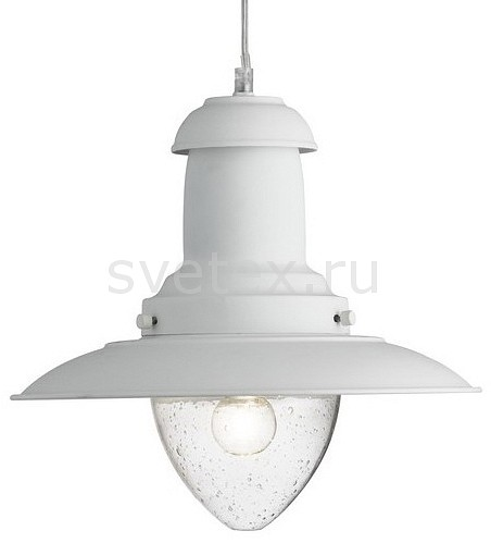Подвесной светильник Arte LampБарные<br>Артикул - AR_A5530SP-1WH,Бренд - Arte Lamp (Италия),Коллекция - Fisherman,Гарантия, месяцы - 24,Высота, мм - 310-1110,Диаметр, мм - 320,Тип лампы - компактная люминесцентная [КЛЛ] ИЛИнакаливания ИЛИсветодиодная [LED],Общее кол-во ламп - 1,Напряжение питания лампы, В - 220,Максимальная мощность лампы, Вт - 100,Лампы в комплекте - отсутствуют,Цвет плафонов и подвесок - неокрашенный,Тип поверхности плафонов - прозрачный,Материал плафонов и подвесок - стекло,Цвет арматуры - белый,Тип поверхности арматуры - матовый,Материал арматуры - металл,Количество плафонов - 1,Возможность подлючения диммера - можно, если установить лампу накаливания,Тип цоколя лампы - E27,Класс электробезопасности - I,Степень пылевлагозащиты, IP - 20,Диапазон рабочих температур - комнатная температура,Дополнительные параметры - способ крепления светильника к потолку - на монтажной пластине, регулируется по высоте<br>