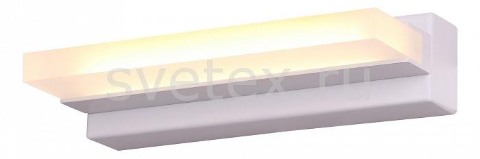 Накладной светильник ST-LuceСветодиодные<br>Артикул - SL589.011.01,Бренд - ST-Luce (Италия),Коллекция - Local,Гарантия, месяцы - 24,Ширина, мм - 195,Высота, мм - 45,Выступ, мм - 90,Размер упаковки, мм - 550x260x295,Тип лампы - светодиодная [LED],Общее кол-во ламп - 1,Максимальная мощность лампы, Вт - 6,Цвет лампы - белый,Лампы в комплекте - светодиодная [LED],Цвет плафонов и подвесок - белый,Тип поверхности плафонов - матовый,Материал плафонов и подвесок - акрил,Цвет арматуры - белый,Тип поверхности арматуры - матовый,Материал арматуры - металл,Количество плафонов - 1,Возможность подлючения диммера - нельзя,Цветовая температура, K - 4000 K,Экономичнее лампы накаливания - в 10 раз,Класс электробезопасности - I,Напряжение питания, В - 220,Степень пылевлагозащиты, IP - 20,Диапазон рабочих температур - комнатная температура,Дополнительные параметры - способ крепления светильника на стене – на монтажной пластине, светильник предназначен для использования со скрытой проводкой<br>
