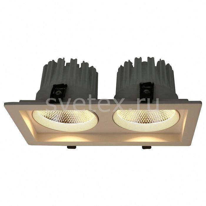 Встраиваемый светильник Arte LampСветильники<br>Артикул - AR_A7018PL-2WH,Бренд - Arte Lamp (Италия),Коллекция - Privato,Гарантия, месяцы - 24,Длина, мм - 265,Ширина, мм - 145,Глубина, мм - 100,Размер врезного отверстия, мм - 235x115,Тип лампы - светодиодная [LED],Общее кол-во ламп - 2,Напряжение питания лампы, В - 220,Максимальная мощность лампы, Вт - 18,Цвет лампы - белый теплый,Лампы в комплекте - светодиодные [LED],Цвет арматуры - белый,Тип поверхности арматуры - матовый,Материал арматуры - металл,Цветовая температура, K - 3000 K,Световой поток, лм - 2240,Экономичнее лампы накаливания - в 4.4 раза,Светоотдача, лм/Вт - 62,Ресурс лампы - 25 тыс. час.,Класс электробезопасности - I,Общая мощность, Вт - 36,Степень пылевлагозащиты, IP - 20,Диапазон рабочих температур - комнатная температура<br>