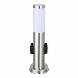 Наземный низкий светильник GloboНизкие<br>Артикул - GB_3158K,Бренд - Globo (Австрия),Коллекция - Boston,Гарантия, месяцы - 24,Высота, мм - 450,Диаметр, мм - 76,Тип лампы - компактная люминесцентная [КЛЛ] ИЛИнакаливания ИЛИсветодиодная [LED],Общее кол-во ламп - 1,Напряжение питания лампы, В - 220,Максимальная мощность лампы, Вт - 60,Лампы в комплекте - отсутствуют,Цвет плафонов и подвесок - белый,Тип поверхности плафонов - матовый,Материал плафонов и подвесок - полимер,Цвет арматуры - хром,Тип поверхности арматуры - глянцевый,Материал арматуры - сталь нержавеющая,Тип цоколя лампы - E27,Класс электробезопасности - III,Степень пылевлагозащиты, IP - 44,Диапазон рабочих температур - от - 20^C до +40^C,Дополнительные параметры - диаметр основания светильника 131 мм<br>