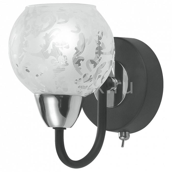 Бра IDLampНастенные светильники<br>Артикул - ID_382_1PF-Blackchrome,Бренд - IDLamp (Италия),Коллекция - 382,Время изготовления, дней - 1,Ширина, мм - 105,Высота, мм - 160,Выступ, мм - 150,Тип лампы - компактная люминесцентная [КЛЛ] ИЛИнакаливания ИЛИсветодиодная [LED],Общее кол-во ламп - 1,Напряжение питания лампы, В - 220,Максимальная мощность лампы, Вт - 60,Лампы в комплекте - отсутствуют,Цвет плафонов и подвесок - белый с рисунком,Тип поверхности плафонов - прозрачный,Материал плафонов и подвесок - стекло,Цвет арматуры - хром, черный,Тип поверхности арматуры - глянцевый, матовый,Материал арматуры - металл,Количество плафонов - 1,Наличие выключателя, диммера или пульта ДУ - выключатель,Тип цоколя лампы - E14,Класс электробезопасности - I,Степень пылевлагозащиты, IP - 20,Диапазон рабочих температур - комнатная температура,Дополнительные параметры - светильник предназначен для использования со скрытой проводкой, способ крепления светильника к стене – на монтажной пластине<br>