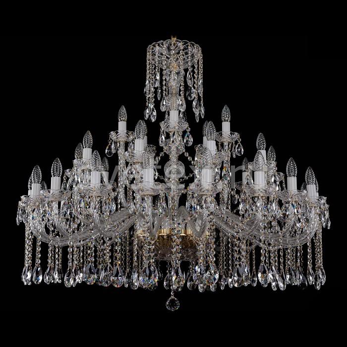 Фото Подвесная люстра Bohemia Ivele Crystal 1413 1413/20_10_5/400/G