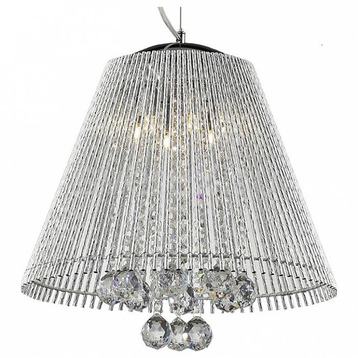 Подвесной светильник LussoleПодвесные светильники<br>Артикул - LSC-8406-06,Бренд - Lussole (Италия),Коллекция - Piagge,Гарантия, месяцы - 24,Время изготовления, дней - 1,Высота, мм - 1300,Диаметр, мм - 410,Тип лампы - галогеновая,Общее кол-во ламп - 6,Напряжение питания лампы, В - 220,Максимальная мощность лампы, Вт - 40,Цвет лампы - белый теплый,Лампы в комплекте - галогеновые G9,Цвет плафонов и подвесок - неокрашенный,Тип поверхности плафонов - прозрачный,Материал плафонов и подвесок - полимер, хрусталь Asfour,Цвет арматуры - хром,Тип поверхности арматуры - глянцевый,Материал арматуры - металл,Количество плафонов - 1,Возможность подлючения диммера - можно,Форма и тип колбы - пальчиковая,Тип цоколя лампы - G9,Цветовая температура, K - 2800 - 3200 K,Экономичнее лампы накаливания - на 50%,Класс электробезопасности - I,Общая мощность, Вт - 240,Степень пылевлагозащиты, IP - 20,Диапазон рабочих температур - комнатная температура<br>