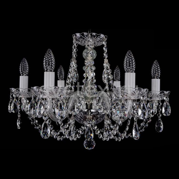 Фото Подвесная люстра Bohemia Ivele Crystal 1406 1406/6/195/Ni