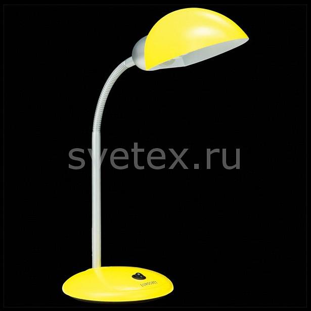 Настольная лампа EurosvetСветильники<br>Артикул - EV_6592,Бренд - Eurosvet (Китай),Коллекция - 1926,Гарантия, месяцы - 24,Ширина, мм - 180,Высота, мм - 660,Выступ, мм - 180,Тип лампы - компактная люминесцентная [КЛЛ] ИЛИсветодиодная [LED],Общее кол-во ламп - 1,Напряжение питания лампы, В - 220,Максимальная мощность лампы, Вт - 15,Лампы в комплекте - отсутствуют,Цвет плафонов и подвесок - желтый,Тип поверхности плафонов - матовый,Материал плафонов и подвесок - полимер,Цвет арматуры - желтый, хром,Тип поверхности арматуры - глянцевый, матовый,Материал арматуры - металл, полимер,Количество плафонов - 1,Наличие выключателя, диммера или пульта ДУ - выключатель,Компоненты, входящие в комплект - провод электропитания с вилкой без заземления,Тип цоколя лампы - E27,Класс электробезопасности - II,Степень пылевлагозащиты, IP - 20,Диапазон рабочих температур - комнатная температура,Дополнительные параметры - поворотный светильник<br>