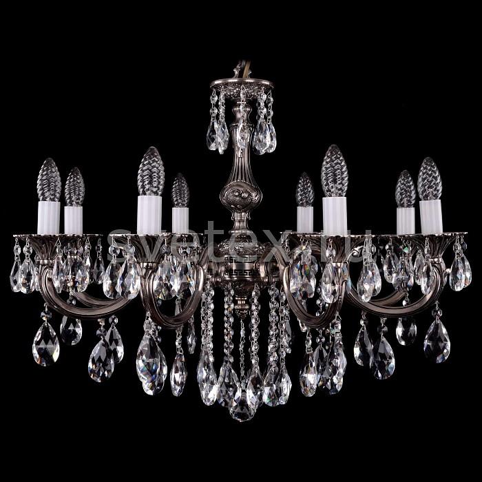 Фото Подвесная люстра Bohemia Ivele Crystal 1702 1702/8/B/NB