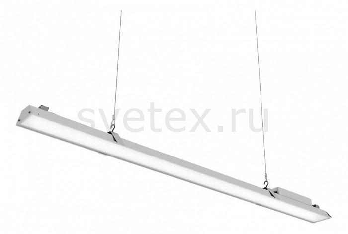 Подвесной светильник Led EffectСветодиодные<br>Артикул - LED_388755,Бренд - Led Effect (Россия),Коллекция - Ритейл Лайт,Гарантия, месяцы - 36,Длина, мм - 1443,Ширина, мм - 110,Высота, мм - 92,Тип лампы - светодиодная [LED],Общее кол-во ламп - 1,Максимальная мощность лампы, Вт - 40,Цвет лампы - белый теплый,Лампы в комплекте - светодиодная [LED],Цвет плафонов и подвесок - белый,Тип поверхности плафонов - матовый,Материал плафонов и подвесок - полимер,Цвет арматуры - белый,Тип поверхности арматуры - матовый,Материал арматуры - металл,Количество плафонов - 1,Цветовая температура, K - 3000 K,Световой поток, лм - 3100,Экономичнее лампы накаливания - В 5, 1 раза,Светоотдача, лм/Вт - 78,Ресурс лампы - 50 тыс. час.,Класс электробезопасности - I,Напряжение питания, В - 175-260,Коэффициент мощности - 0.98,Степень пылевлагозащиты, IP - 20,Диапазон рабочих температур - от -0^C до +45^C,Индекс цветопередачи, % - 80,Пульсации светового потока, % менее - 1,Климатическое исполнение - УХЛ 4,Дополнительные параметры - указана высота светильника без подвеса, текстурированный рассеиватель<br>