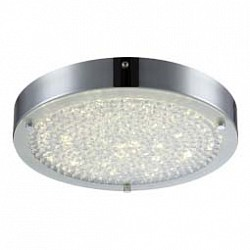 Накладной светильник GloboКруглые<br>Артикул - GB_49212,Бренд - Globo (Австрия),Коллекция - Maxime,Гарантия, месяцы - 24,Диаметр, мм - 300,Тип лампы - светодиодная [LED],Общее кол-во ламп - 1,Напряжение питания лампы, В - 54.4,Максимальная мощность лампы, Вт - 17,Лампы в комплекте - светодиодная [LED],Цвет плафонов и подвесок - неокрашенный,Тип поверхности плафонов - прозрачный,Материал плафонов и подвесок - стекло, хрусталь K5,Цвет арматуры - хром,Тип поверхности арматуры - глянцевый,Материал арматуры - металл,Возможность подлючения диммера - нельзя,Класс электробезопасности - I,Степень пылевлагозащиты, IP - 20,Диапазон рабочих температур - комнатная температура<br>