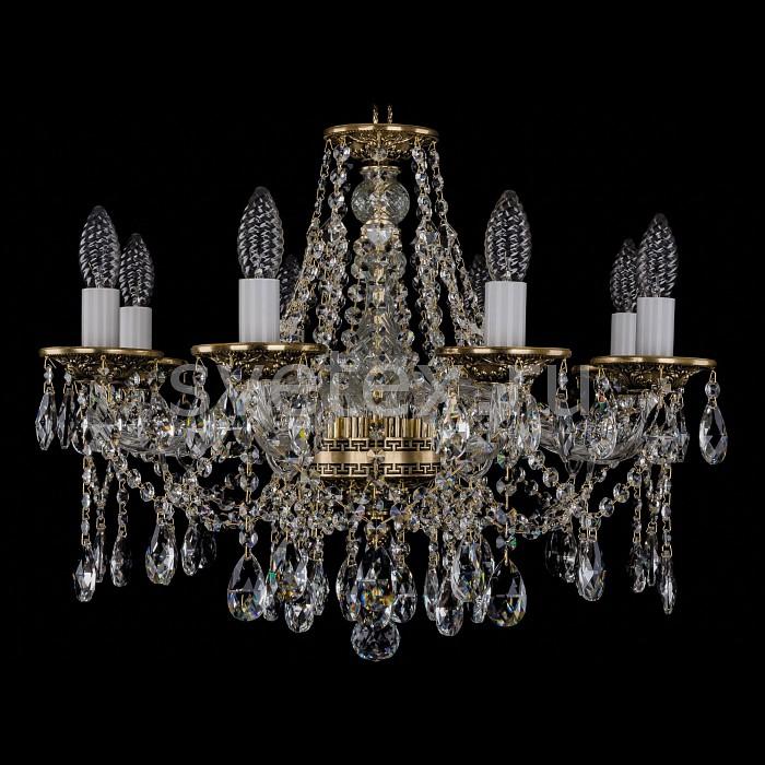 Фото Подвесная люстра Bohemia Ivele Crystal 1613 1613/8/200/GB