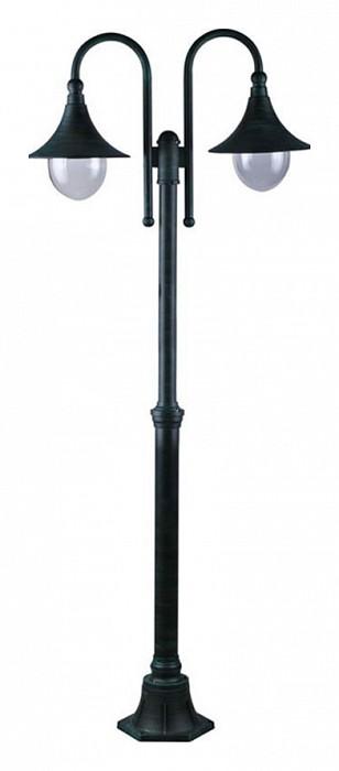 Фото Фонарный столб Arte Lamp Malaga A1086PA-2BG