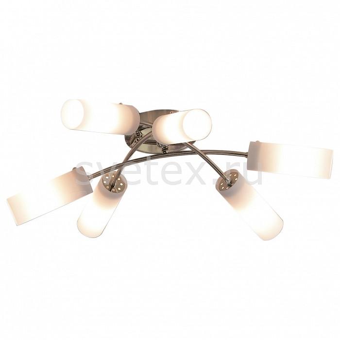 Потолочная люстра CitiluxЛюстры<br>Артикул - CL122162,Бренд - Citilux (Дания),Коллекция - Новелла,Гарантия, месяцы - 24,Время изготовления, дней - 1,Высота, мм - 160,Диаметр, мм - 640,Размер упаковки, мм - 540x230x150,Тип лампы - компактная люминесцентная [КЛЛ] ИЛИнакаливания ИЛИсветодиодная [LED],Общее кол-во ламп - 6,Напряжение питания лампы, В - 220,Максимальная мощность лампы, Вт - 60,Лампы в комплекте - отсутствуют,Цвет плафонов и подвесок - белый,Тип поверхности плафонов - матовый,Материал плафонов и подвесок - стекло,Цвет арматуры - золото,Тип поверхности арматуры - глянцевый,Материал арматуры - металл,Количество плафонов - 6,Возможность подлючения диммера - можно, если установить лампу накаливания,Тип цоколя лампы - E14,Класс электробезопасности - I,Общая мощность, Вт - 360,Степень пылевлагозащиты, IP - 20,Диапазон рабочих температур - комнатная температура<br>