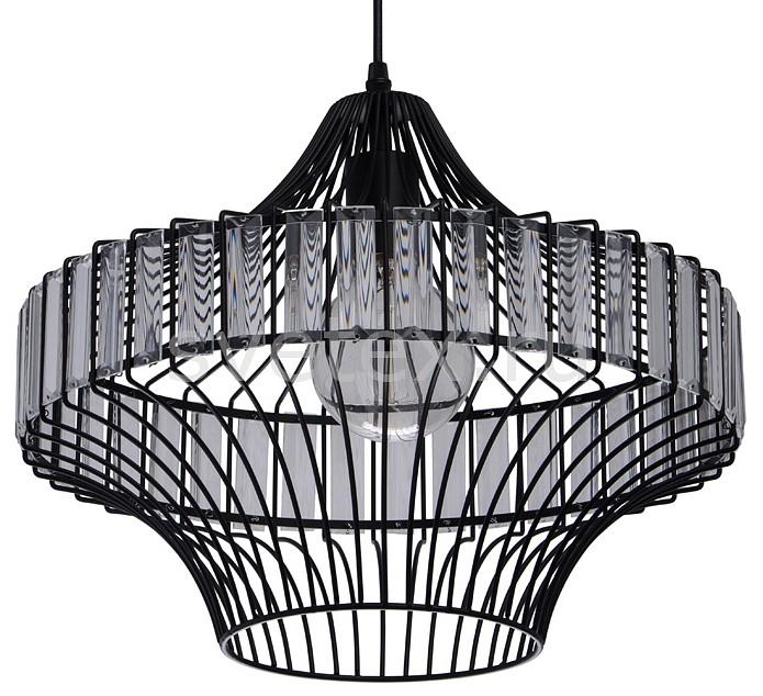 Подвесной светильник MW-LightПодвесные светильники<br>Артикул - MW_643012101,Бренд - MW-Light (Германия),Коллекция - Кассель 1,Гарантия, месяцы - 24,Высота, мм - 340-1680,Диаметр, мм - 410,Тип лампы - компактная люминесцентная [КЛЛ] ИЛИнакаливания ИЛИсветодиодная [LED],Общее кол-во ламп - 1,Напряжение питания лампы, В - 220,Максимальная мощность лампы, Вт - 60,Лампы в комплекте - отсутствуют,Цвет плафонов и подвесок - неокрашенный, черный,Тип поверхности плафонов - матовый, прозрачный,Материал плафонов и подвесок - металл, хрусталь,Цвет арматуры - черный,Тип поверхности арматуры - матовый,Материал арматуры - металл,Количество плафонов - 1,Возможность подлючения диммера - можно, если установить лампу накаливания,Тип цоколя лампы - E27,Класс электробезопасности - I,Степень пылевлагозащиты, IP - 20,Диапазон рабочих температур - комнатная температура,Дополнительные параметры - способ крепления светильника к потолку - на монтажной пластине, светильник регулируется по высоте<br>