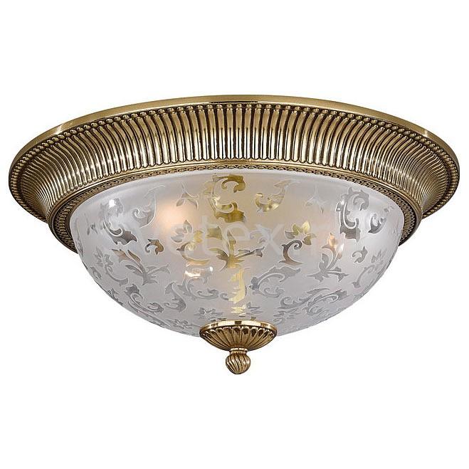 Накладной светильник Reccagni AngeloКруглые<br>Артикул - RA_PL_6302_3,Бренд - Reccagni Angelo (Италия),Коллекция - 6302,Гарантия, месяцы - 24,Высота, мм - 200,Диаметр, мм - 400,Тип лампы - компактная люминесцентная [КЛЛ] ИЛИнакаливания ИЛИсветодиодная [LED],Общее кол-во ламп - 3,Напряжение питания лампы, В - 220,Максимальная мощность лампы, Вт - 60,Лампы в комплекте - отсутствуют,Цвет плафонов и подвесок - белый с рисунком,Тип поверхности плафонов - матовый,Материал плафонов и подвесок - стекло,Цвет арматуры - золото французское,Тип поверхности арматуры - глянцевый, рельефный,Материал арматуры - латунь,Количество плафонов - 1,Возможность подлючения диммера - можно, если установить лампу накаливания,Тип цоколя лампы - E27,Класс электробезопасности - I,Общая мощность, Вт - 180,Степень пылевлагозащиты, IP - 20,Диапазон рабочих температур - комнатная температура,Дополнительные параметры - способ крепления светильника к потолку - на монтажной пластине<br>