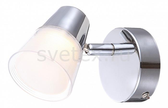 Спот GloboСпоты<br>Артикул - GB_56185-1,Бренд - Globo (Австрия),Коллекция - Teika,Гарантия, месяцы - 24,Ширина, мм - 80,Высота, мм - 95,Выступ, мм - 130,Тип лампы - светодиодная [LED],Общее кол-во ламп - 1,Напряжение питания лампы, В - 20,Максимальная мощность лампы, Вт - 3,Цвет лампы - белый теплый,Лампы в комплекте - светодиодная [LED],Цвет плафонов и подвесок - белый, неокрашенный,Тип поверхности плафонов - матовый, прозрачный,Материал плафонов и подвесок - полимер,Цвет арматуры - хром,Тип поверхности арматуры - глянцевый,Материал арматуры - металл,Количество плафонов - 1,Возможность подлючения диммера - нельзя,Компоненты, входящие в комплект - трансформатор 20В,Цветовая температура, K - 3000 K,Световой поток, лм - 200,Экономичнее лампы накаливания - в 8.3 раза,Светоотдача, лм/Вт - 67,Класс электробезопасности - I,Напряжение питания, В - 220,Степень пылевлагозащиты, IP - 20,Диапазон рабочих температур - комнатная температура,Дополнительные параметры - способ крепления светильника к стене -  на монтажной пластине, поворотный светильник, светильник предназначен для установки со крытой проводкой<br>