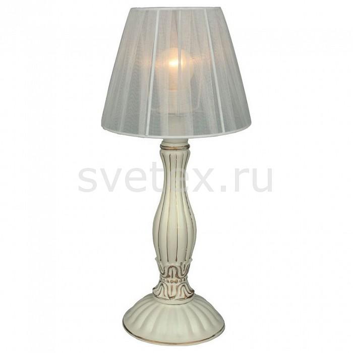Настольная лампа OmniluxС абажуром<br>Артикул - OM_OML-73304-01,Бренд - Omnilux (Италия),Коллекция - OML-733,Гарантия, месяцы - 24,Время изготовления, дней - 1,Высота, мм - 400,Диаметр, мм - 180,Тип лампы - компактная люминесцентная [КЛЛ] ИЛИнакаливания ИЛИсветодиодная [LED],Общее кол-во ламп - 1,Напряжение питания лампы, В - 220,Максимальная мощность лампы, Вт - 40,Лампы в комплекте - отсутствуют,Цвет плафонов и подвесок - белый,Тип поверхности плафонов - прозрачный,Материал плафонов и подвесок - текстиль,Цвет арматуры - золото, кремовый,Тип поверхности арматуры - матовый, рельефный,Материал арматуры - металл,Количество плафонов - 1,Наличие выключателя, диммера или пульта ДУ - выключатель на проводе,Компоненты, входящие в комплект - провод электропитания с вилкой без заземления,Тип цоколя лампы - E14,Класс электробезопасности - II,Степень пылевлагозащиты, IP - 20,Диапазон рабочих температур - комнатная температура<br>