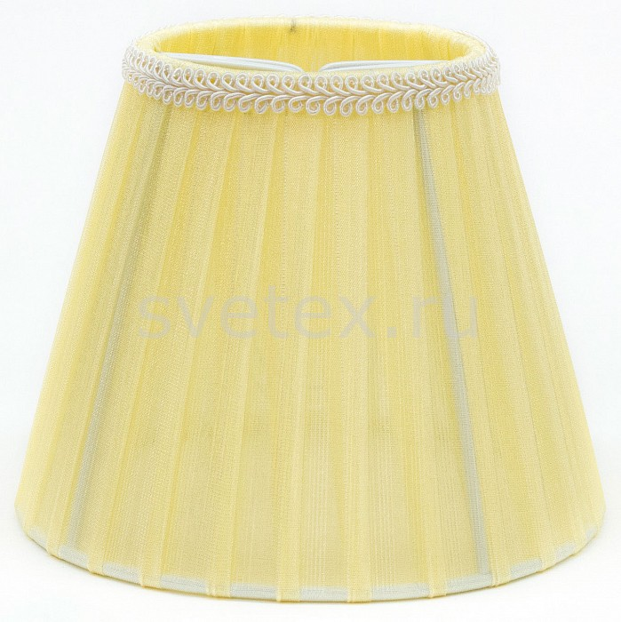 Плафон Citiluxкомплектующие для люстр<br>Артикул - CL_115-008,Бренд - Citilux (Дания),Коллекция - Фиона,Время изготовления, дней - 1,Цвет плафонов и подвесок - желтый,Тип поверхности плафонов - матовый, рельефный,Материал плафонов и подвесок - текстиль<br>