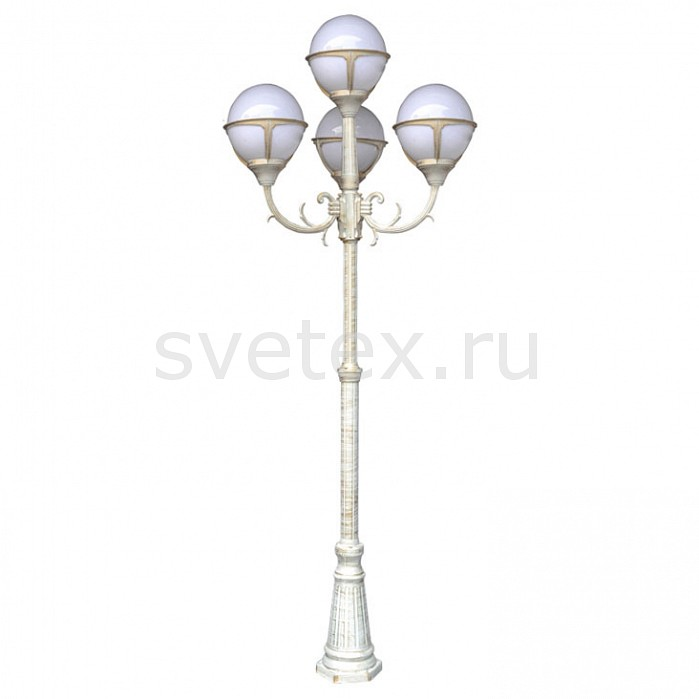Фото Фонарный столб Arte Lamp Monaco A1497PA-4WG