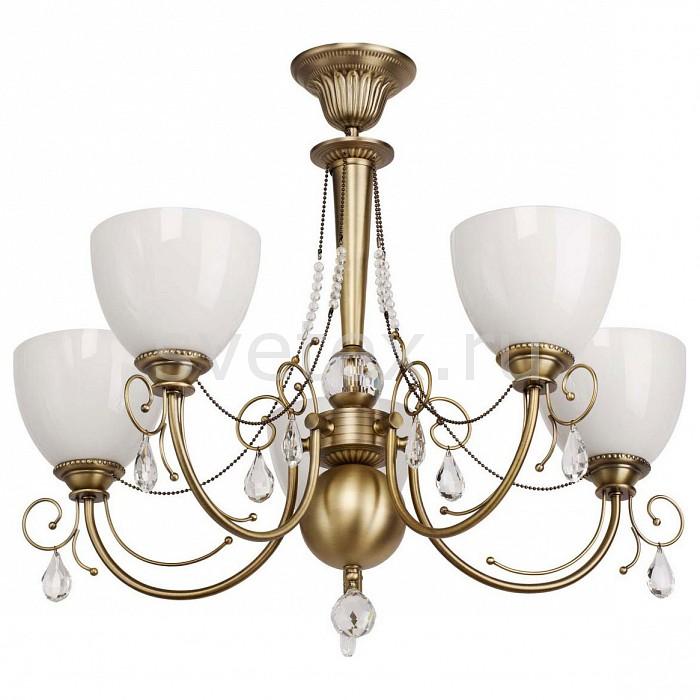 Люстра на штанге MW-LightХРУСТАЛЬНЫЕ светильники<br>Артикул - MW_347016405,Бренд - MW-Light (Германия),Коллекция - Фелиция,Гарантия, месяцы - 24,Высота, мм - 600,Диаметр, мм - 720,Тип лампы - компактная люминесцентная [КЛЛ] ИЛИнакаливания ИЛИсветодиодная [LED],Общее кол-во ламп - 5,Напряжение питания лампы, В - 220,Максимальная мощность лампы, Вт - 60,Лампы в комплекте - отсутствуют,Цвет плафонов и подвесок - белый, неокрашенный,Тип поверхности плафонов - матовый, прозрачный,Материал плафонов и подвесок - стекло, хрусталь,Цвет арматуры - бронза,Тип поверхности арматуры - матовый,Материал арматуры - металл,Количество плафонов - 5,Возможность подлючения диммера - можно, если установить лампу накаливания,Тип цоколя лампы - E27,Класс электробезопасности - I,Общая мощность, Вт - 300,Степень пылевлагозащиты, IP - 20,Диапазон рабочих температур - комнатная температура<br>