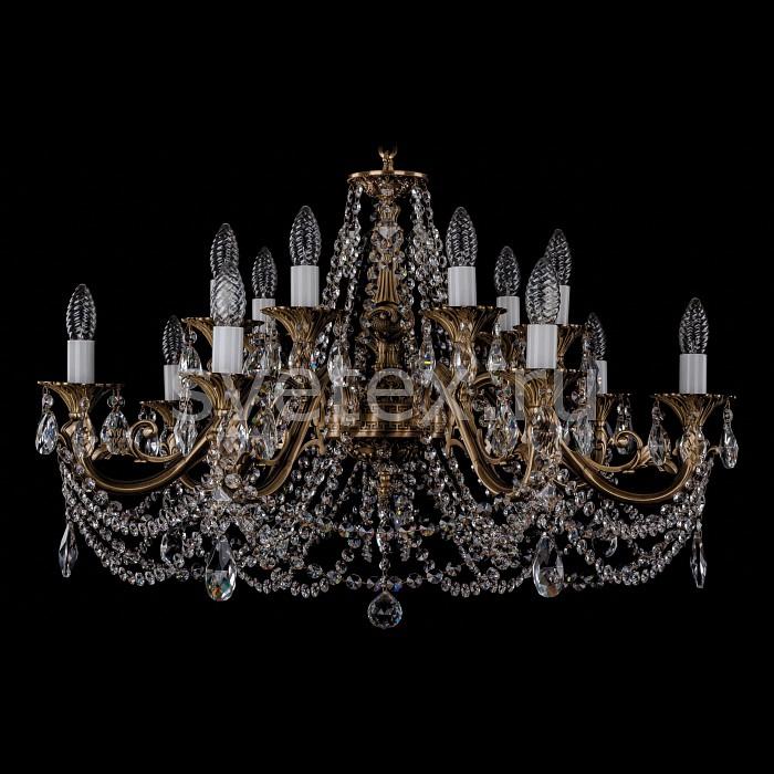 Фото Подвесная люстра Bohemia Ivele Crystal 1703 1703/14/C/FP