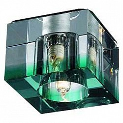 Встраиваемый светильник NovotechКвадратные<br>Артикул - NV_369296,Бренд - Novotech (Венгрия),Коллекция - Cubic,Гарантия, месяцы - 24,Тип лампы - галогеновая ИЛИсветодиодная [LED],Общее кол-во ламп - 1,Напряжение питания лампы, В - 220,Максимальная мощность лампы, Вт - 40,Лампы в комплекте - отсутствуют,Цвет плафонов и подвесок - зеленый, неокрашенный,Тип поверхности плафонов - прозрачный,Материал плафонов и подвесок - стекло,Цвет арматуры - хром,Тип поверхности арматуры - глянцевый,Материал арматуры - металл,Количество плафонов - 1,Возможность подлючения диммера - можно, если установить галогеновую лампу,Тип цоколя лампы - G9,Класс электробезопасности - I,Степень пылевлагозащиты, IP - 20,Диапазон рабочих температур - комнатная температура<br>