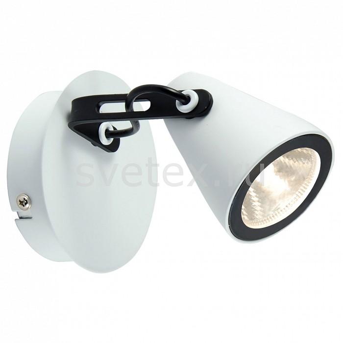 Спот Loft LSN-4101-01 LussoleСпоты<br>Артикул - LSN-4101-01,Бренд - Lussole (Италия),Коллекция - Loft,Гарантия, месяцы - 24,Длина, мм - 110,Ширина, мм - 100,Выступ, мм - 160,Тип лампы - светодиодная [LED],Общее кол-во ламп - 1,Напряжение питания лампы, В - 220,Максимальная мощность лампы, Вт - 5,Цвет лампы - белый,Лампы в комплекте - светодиодная [LED],Цвет плафонов и подвесок - белый, черный,Тип поверхности плафонов - матовый,Материал плафонов и подвесок - металл,Цвет арматуры - белый, черный,Тип поверхности арматуры - матовый,Материал арматуры - металл,Количество плафонов - 1,Возможность подлючения диммера - нельзя,Цветовая температура, K - 4000 K,Световой поток, лм - 500,Экономичнее лампы накаливания - в 10 раз,Светоотдача, лм/Вт - 100,Класс электробезопасности - I,Степень пылевлагозащиты, IP - 20,Диапазон рабочих температур - комнатная температура<br>
