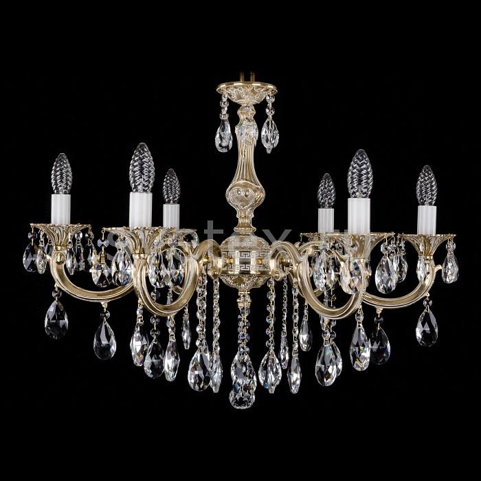 Фото Подвесная люстра Bohemia Ivele Crystal 1702 1702/6/B/GW