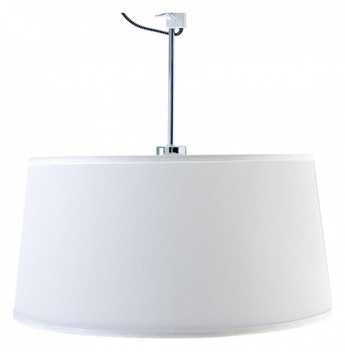 Светильник на штанге MantraКруглые<br>Артикул - MN_5300_5302,Бренд - Mantra (Испания),Коллекция - Habana,Гарантия, месяцы - 24,Высота, мм - 560-805,Диаметр, мм - 450,Тип лампы - компактная люминесцентная [КЛЛ] ИЛИсветодиодная [LED],Общее кол-во ламп - 1,Напряжение питания лампы, В - 220,Максимальная мощность лампы, Вт - 23,Лампы в комплекте - отсутствуют,Цвет плафонов и подвесок - белый,Тип поверхности плафонов - матовый,Материал плафонов и подвесок - текстиль,Цвет арматуры - белый, хром,Тип поверхности арматуры - глянцевый, матовый,Материал арматуры - металл,Количество плафонов - 1,Тип цоколя лампы - E27,Класс электробезопасности - I,Степень пылевлагозащиты, IP - 20,Диапазон рабочих температур - комнатная температура,Дополнительные параметры - способ крепления светильника к потолку - на монтажной пластине, регулируется по высоте<br>