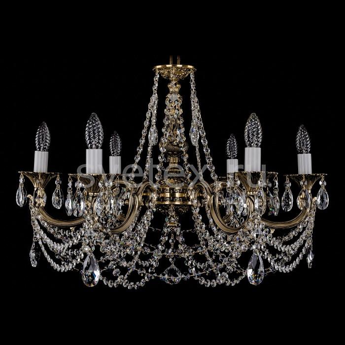 Фото Подвесная люстра Bohemia Ivele Crystal 1702 1702/6/C/GB