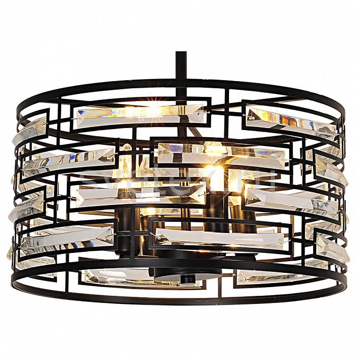 Подвесной светильник LussoleСветодиодные<br>Артикул - LSP-9935,Бренд - Lussole (Италия),Коллекция - Loft,Гарантия, месяцы - 24,Время изготовления, дней - 1,Высота, мм - 190-1200,Диаметр, мм - 420,Тип лампы - компактная люминесцентная [КЛЛ] ИЛИнакаливания ИЛИсветодиодная [LED],Общее кол-во ламп - 4,Напряжение питания лампы, В - 220,Максимальная мощность лампы, Вт - 40,Лампы в комплекте - отсутствуют,Цвет плафонов и подвесок - неокрашенный, черный,Тип поверхности плафонов - матовый,Материал плафонов и подвесок - металл, хрусталь,Цвет арматуры - черный,Тип поверхности арматуры - матовый,Материал арматуры - металл,Количество плафонов - 1,Возможность подлючения диммера - можно, если установить лампу накаливания,Тип цоколя лампы - E14,Класс электробезопасности - I,Общая мощность, Вт - 160,Степень пылевлагозащиты, IP - 20,Диапазон рабочих температур - комнатная температура,Дополнительные параметры - регулируется по высоте<br>