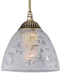 Подвесной светильник Reccagni AngeloСветодиодные<br>Артикул - RA_L_6252_14,Бренд - Reccagni Angelo (Италия),Коллекция - 6252,Гарантия, месяцы - 24,Высота, мм - 140-800,Диаметр, мм - 140,Тип лампы - компактная люминесцентная [КЛЛ] ИЛИнакаливания ИЛИсветодиодная [LED],Общее кол-во ламп - 1,Напряжение питания лампы, В - 220,Максимальная мощность лампы, Вт - 60,Лампы в комплекте - отсутствуют,Цвет плафонов и подвесок - неокрашенный с рисунком,Тип поверхности плафонов - матовый,Материал плафонов и подвесок - стекло,Цвет арматуры - бронза состаренная,Тип поверхности арматуры - матовый, рельефный,Материал арматуры - латунь,Количество плафонов - 1,Возможность подлючения диммера - можно, если установить лампу накаливания,Тип цоколя лампы - E27,Класс электробезопасности - I,Степень пылевлагозащиты, IP - 20,Диапазон рабочих температур - комнатная температура,Дополнительные параметры - способ крепления светильника к потолку - на крюке, регулируется по высоте<br>