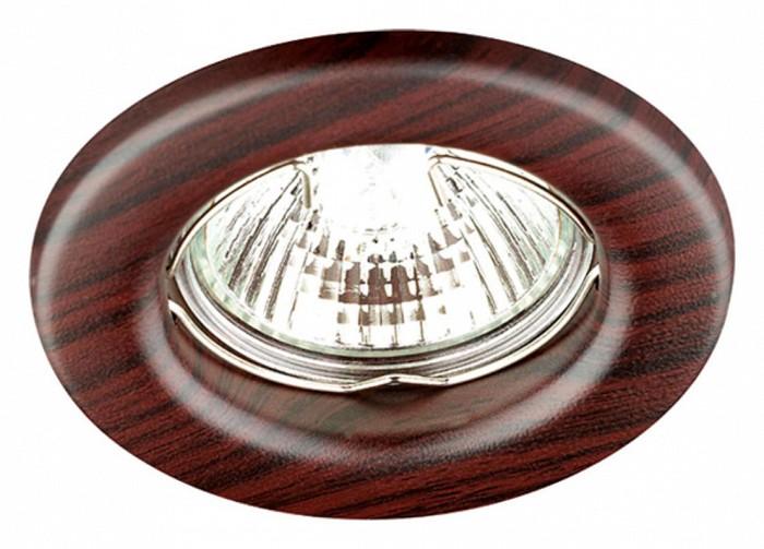 Фото Встраиваемый светильник Novotech Wood 369715