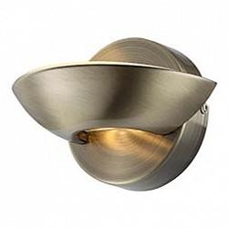 Накладной светильник GloboСветодиодные<br>Артикул - GB_76002,Бренд - Globo (Австрия),Коллекция - Sammy,Гарантия, месяцы - 24,Высота, мм - 110,Размер упаковки, мм - 125x120x130,Тип лампы - светодиодная [LED],Общее кол-во ламп - 2,Напряжение питания лампы, В - 10. 15,Максимальная мощность лампы, Вт - 3, 4.5,Лампы в комплекте - светодиодные [LED],Цвет плафонов и подвесок - латунь античная,Тип поверхности плафонов - матовый,Материал плафонов и подвесок - металл,Цвет арматуры - латунь античная,Тип поверхности арматуры - матовый,Материал арматуры - металл,Возможность подлючения диммера - нельзя,Класс электробезопасности - I,Общая мощность, Вт - 7,Степень пылевлагозащиты, IP - 20,Диапазон рабочих температур - комнатная температура,Дополнительные параметры - способ крепления светильника к стене – на монтажной пластине, светильник предназначен для использования со скрытой проводкой<br>