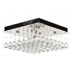 Накладной светильник Arti LampadariКвадратные<br>Артикул - AL_Flusso_H_1.4.40.616_N,Бренд - Arti Lampadari (Италия),Коллекция - Flusso,Гарантия, месяцы - 24,Время изготовления, дней - 1,Высота, мм - 660,Тип лампы - галогеновая ИЛИсветодиодная [LED],Общее кол-во ламп - 6,Напряжение питания лампы, В - 220,Максимальная мощность лампы, Вт - 40,Лампы в комплекте - отсутствуют,Цвет плафонов и подвесок - неокрашенные,Тип поверхности плафонов - прозрачный,Материал плафонов и подвесок - хрусталь,Цвет арматуры - никель,Тип поверхности арматуры - матовый,Материал арматуры - металл,Возможность подлючения диммера - можно, если установить лампу накаливания,Форма и тип колбы - пальчиковая,Тип цоколя лампы - G9,Класс электробезопасности - I,Общая мощность, Вт - 240,Степень пылевлагозащиты, IP - 20,Диапазон рабочих температур - комнатная температура,Дополнительные параметры - способ крепления светильника к потолку – на монтажной пластине<br>