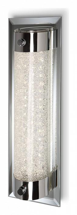 Накладной светильник MantraСветодиодные<br>Артикул - MN_5534,Бренд - Mantra (Испания),Коллекция - Tube,Гарантия, месяцы - 24,Длина, мм - 300,Ширина, мм - 100,Выступ, мм - 75,Тип лампы - светодиодная [LED],Общее кол-во ламп - 1,Напряжение питания лампы, В - 220,Максимальная мощность лампы, Вт - 8,Цвет лампы - белый,Лампы в комплекте - светодиодная [LED],Цвет плафонов и подвесок - неокрашенный,Тип поверхности плафонов - прозрачный,Материал плафонов и подвесок - стекло,Цвет арматуры - хром,Тип поверхности арматуры - глянцевый,Материал арматуры - металл,Количество плафонов - 1,Возможность подлючения диммера - нельзя,Цветовая температура, K - 4000 K,Световой поток, лм - 680,Экономичнее лампы накаливания - в 7.9 раз,Светоотдача, лм/Вт - 85,Класс электробезопасности - I,Степень пылевлагозащиты, IP - 20,Диапазон рабочих температур - комнатная температура,Дополнительные параметры - способ крепления светильника к потолку и стене – на монтажной пластине<br>