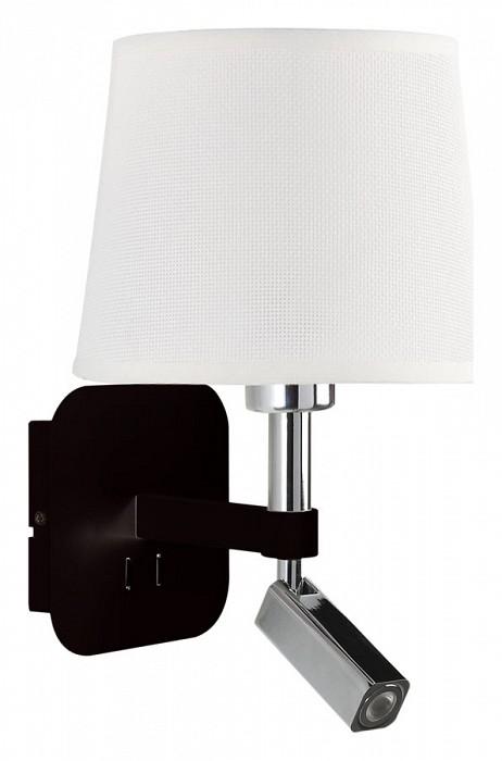 Бра MantraСветодиодные<br>Артикул - MN_5317_5237,Бренд - Mantra (Испания),Коллекция - Habana,Гарантия, месяцы - 24,Ширина, мм - 200,Высота, мм - 366,Выступ, мм - 235,Тип лампы - компактная люминесцентная [КЛЛ] ИЛИсветодиодная [LED],Общее кол-во ламп - 2,Напряжение питания лампы, В - 220,Максимальная мощность лампы, Вт - 3, 13,Цвет лампы - белый теплый,Лампы в комплекте - светодиодные [LED],Цвет плафонов и подвесок - белый,Тип поверхности плафонов - матовый,Материал плафонов и подвесок - текстиль,Цвет арматуры - черный, хром,Тип поверхности арматуры - глянцевый, матовый,Материал арматуры - металл,Количество плафонов - 1,Наличие выключателя, диммера или пульта ДУ - выключатель,Тип цоколя лампы - E27,Цветовая температура, K - 3000 K,Световой поток, лм - 200,Экономичнее лампы накаливания - в 2.6 раза,Светоотдача, лм/Вт - 25,Класс электробезопасности - II,Общая мощность, Вт - 16,Степень пылевлагозащиты, IP - 20,Диапазон рабочих температур - комнатная температура,Дополнительные параметры - способ крепления светильника на стене – на монтажной пластине, светильник предназначен для использования со скрытой проводкой, поворотный светильник<br>