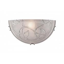Накладной светильник SonexСветодиодные<br>Артикул - SN_013,Бренд - Sonex (Россия),Коллекция - Brena Silver,Гарантия, месяцы - 24,Высота, мм - 150,Тип лампы - компактная люминесцентная [КЛЛ] ИЛИнакаливания ИЛИсветодиодная [LED],Общее кол-во ламп - 1,Напряжение питания лампы, В - 220,Максимальная мощность лампы, Вт - 100,Лампы в комплекте - отсутствуют,Цвет плафонов и подвесок - белый с хромированым орнаментом,Тип поверхности плафонов - матовый,Материал плафонов и подвесок - стекло,Цвет арматуры - хром,Тип поверхности арматуры - глянцевый,Материал арматуры - металл,Возможность подлючения диммера - можно, если установить лампу накаливания,Тип цоколя лампы - E27,Класс электробезопасности - I,Степень пылевлагозащиты, IP - 20,Диапазон рабочих температур - комнатная температура<br>