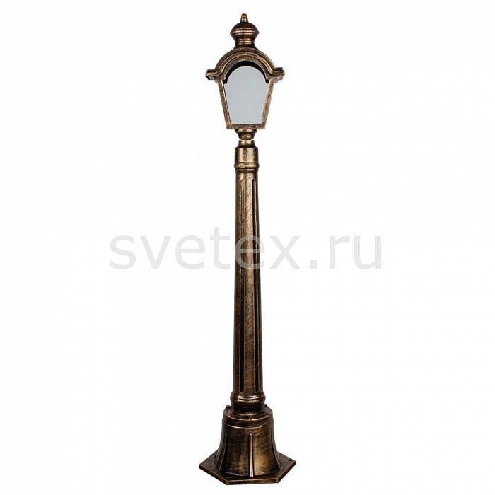 Наземный высокий светильник FeronСветильники<br>Артикул - FE_11399,Бренд - Feron (Китай),Коллекция - Византия,Гарантия, месяцы - 24,Ширина, мм - 100,Высота, мм - 1020,Выступ, мм - 170,Тип лампы - компактная люминесцентная [КЛЛ] ИЛИнакаливания ИЛИсветодиодная [LED],Общее кол-во ламп - 1,Напряжение питания лампы, В - 220,Максимальная мощность лампы, Вт - 60,Лампы в комплекте - отсутствуют,Цвет плафонов и подвесок - неокрашенный,Тип поверхности плафонов - прозрачный,Материал плафонов и подвесок - стекло,Цвет арматуры - золото черненое,Тип поверхности арматуры - матовый,Материал арматуры - силумин,Количество плафонов - 1,Тип цоколя лампы - E27,Класс электробезопасности - I,Степень пылевлагозащиты, IP - 44,Диапазон рабочих температур - от -40^C до +40^C<br>