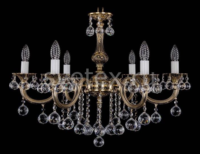 Фото Подвесная люстра Bohemia Ivele Crystal 1702 1702/6/B/GB/Balls