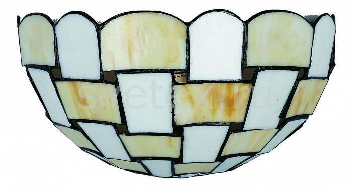 Накладной светильник OmniluxСветодиодные<br>Артикул - OM_OML-80101-01,Бренд - Omnilux (Италия),Коллекция - OML-801,Гарантия, месяцы - 24,Время изготовления, дней - 1,Ширина, мм - 310,Высота, мм - 170,Выступ, мм - 160,Тип лампы - компактная люминесцентная [КЛЛ] ИЛИнакаливания ИЛИсветодиодная [LED],Общее кол-во ламп - 1,Напряжение питания лампы, В - 220,Максимальная мощность лампы, Вт - 40,Лампы в комплекте - отсутствуют,Цвет плафонов и подвесок - бежевый, белый,Тип поверхности плафонов - матовый,Материал плафонов и подвесок - стекло,Цвет арматуры - коричневый,Тип поверхности арматуры - матовый,Материал арматуры - металл,Количество плафонов - 1,Тип цоколя лампы - E14,Класс электробезопасности - I,Степень пылевлагозащиты, IP - 20,Диапазон рабочих температур - комнатная температура,Дополнительные параметры - светильник предназначен для использования со скрытой проводкой, стиль Тиффани<br>